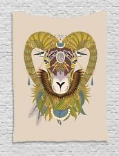 Goat Tapestry Wall Hanging Art Decoration for Room 2 Sizes Ambesonne