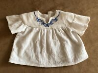 Julie's Meet shirt American Girl doll clothing outfit accessories Peasant blouse