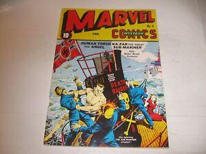 """MARVEL MYSTERY COMICS"" #4 -ANGEL -KA-ZAR -HUMAN TORCH -SUB-MARINER"