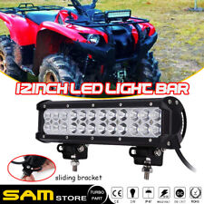 """12""""IN 72W  LED Work Light Bar SPOT Lamp Jeep Boat Car SUV Driving Lamp 14"""