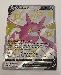 Pokémon TCG - Crobat V Promo SWSH098 - Ultra Premium NM- Shining Fates 2021