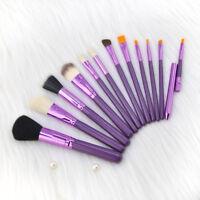 12Pcs Professional Makeup Brushes Set Powder Foundation Lip Face Cosmetic Brush