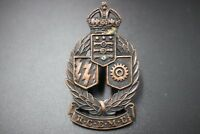 Royal Canadian Mechanical & Electrical Engineers Corps Cap Badge #1