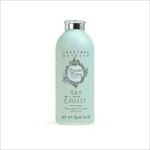 Crabtree & Evelyn English Floral LILY OF THE VALLEY Perfumed Talcum Powder 75g