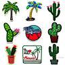 Palm Kaktus Patch California Hawaii Trees Cactus Desert Sun Sew-On Iron-On