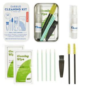 Kikkerland Earbud Cleaning Kit  - Earphones Headset Hygienic Cleaner Set **NEW**