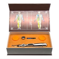 Acupuncture Meridian Laser Massage Pen Body Head Neck Pain Therapy For Relaxing