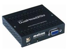 Matrox Dualhead2Go  (D2G-DP2D-IF USED)