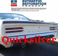 1970 Plymouth Road Runner Deck Matte Flat Black Lid Stripe Kit NEW USA