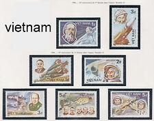 VIETNAM 677/683** 1° HOMME DANS L'ESPACE , 1986 Vietnam 1614-1620.Space MNH