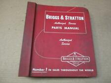 1963 Briggs Amp Stratton Parts Manual Service Catalog