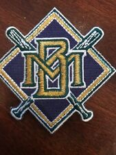 """MILWAUKEE BREWERS BASEBALL VINTAGE Embroidered Iron On Patch  3"""" X 3"""""""