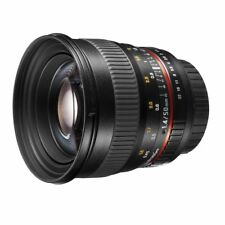 Walimex pro 50mm 1,4 DSLR Canon EOS bauähnlich Samyang Rokinon EF
