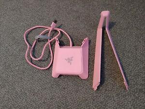 Razer Quartz Pink V1 Base Station RGB Chroma Headset Stand with USB Hub