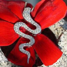 Halsketten und Anhänger aus Weißgold mit Diamanten Tier- & Insekten-Themen