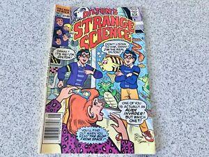STRANGE SCIENCE 1990 COMIC DILTON'S ARCHIE SERIES NO5 MAY VINTAGE FUN