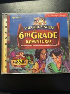 ClueFinders 6th Grade Adventures  Sixth Learning Windows Clue Finders