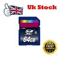 64GB Memory Card for Canon EOS 650D 6D 700D 70D C100 DSLR Camera