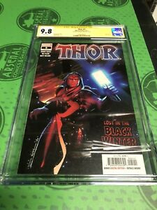 Thor #5 1st Print CGC 9.8 SIGNED BY DONNY CATES 1st Appearance of BLACK WINTER