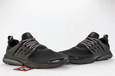 e2fabf089b8605 Nike Air Presto TP QS Tech Fleece Pack Triple Black Size Large 812307 001