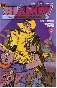 THE SHADOW MINI SERIES #3 (FN-) 1986 Howard Chaykin