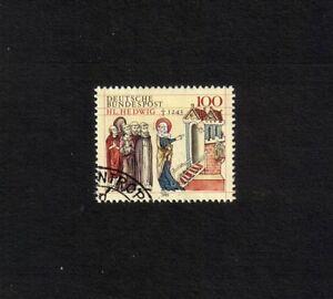 West Germany 1993 St Jadwiga of Silesia single-value set (SG 2547) fine used