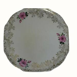 LORD NELSON WARE ELIJAH COTTON CO STAFFORDSHIRE ENGLAND CAKE PLATE