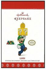 2017 Hallmark Super Mario Luigi Limited Quantity Ornament!