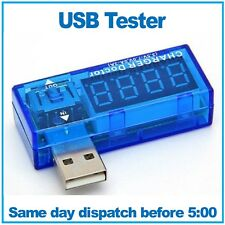 USB Charger Tester. USB Charger Doctor. Tests voltage and current.