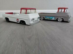 Lot of 2- Restomod Nylint Ford Econoline pickup trucks