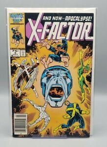 X-Factor #6 Newsstand 1st Apocalypse X-Men Key VF Marvel (1986)