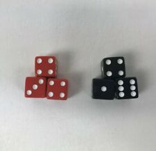 Risk Lord Of The Rings Trilogy Edition Replacement Dice Set 3 Red 3 Black