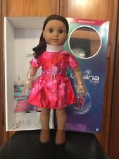American Girl doll Luciana-GOTY 2018-New doll in box+book+outfit+tenney meet sho