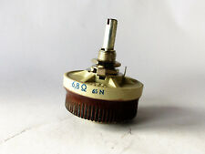 Draht-Potentiometer 6,8 Ohm, 25 Watt Rheostat, NOS