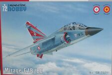 SPECIAL Hobby 1/72 sh72291 Dassault Mirage f.1b/be
