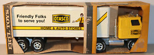 DTE ERTL PRESSED STEEL OTASCO HOME & AUTO STORES TRACTOR TRAILER TRUCK BOXED