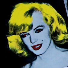 RARE GOLD MARILYN MONROE COVER THE ROLLING STONES SOME GIRLS VINYL LP WARHOL