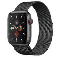 Apple Watch Series 5 GPS Cellular, 44mm Space Gray Aluminum Case Milanese Loop