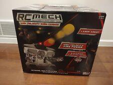 Brand New New Bright R/C M.E.C.H. High Velocity Robo Cannon Nerf RIVAL