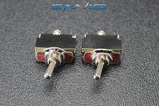 2 PCS TOGGLE SWITCH SPDT CENTER OFF TOGGLE 10 AMP 250V 15 AMP 125V 3 PIN EC-1523
