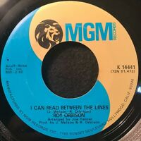 I Can Read Between The Lines/Memphis, Tennessee by Roy Orbison (MGM K 14441) NM