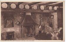 Warwickshire; Stratford, Anne Hathaways Cottage, Living Room PPC, Unposted