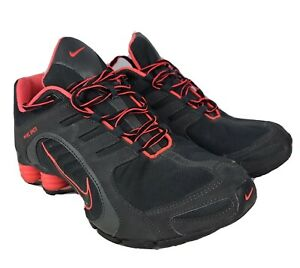 Nike Shox Women Size 10 Pink And Black 356918-026