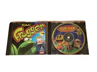 LOT OF 2 Computer Games Hasbro PAC-MAN Adventures in Time & FROGGER PC CD ROM