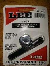 Lee reloading equipment 45acp