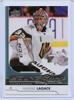 17/18 UPPER DECK YOUNG GUNS ROOKIE RC #482 MAXIME LAGACE GOLDEN KNIGHTS *50680