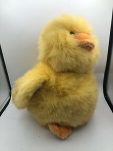 Official Russ Berrie Chickaroos Yellow Baby Chicken Plush Stuffed Toy Animal