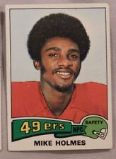 1975 Topps Mike Holmes San Francisco 49ers #478 Football Card ex-mt