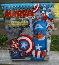 Vintage Marvel Captain America Accessory Playset, Toy Biz, 1990. MIB!