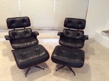 CHARLES EAMES LOUNGE CHAIRS & OTTOMANS